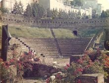 Amphitheater in Trieste, Italy May 26, 1979
