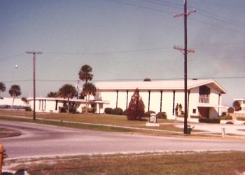 Mayport, Florida Naval Base chapel, where demons were cast out of several people. February 1979