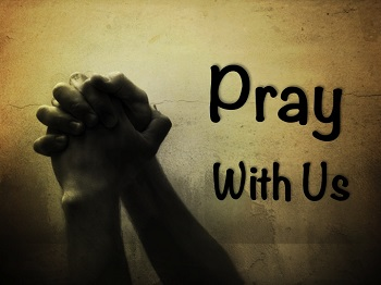 Pray with us.350