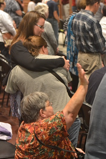 Photo from IGNITE, the Oct. 4, 2016 Paulding County Ohio Revival Prayer Gathering