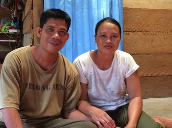 A church-planter and his wife, who is a seamstress.