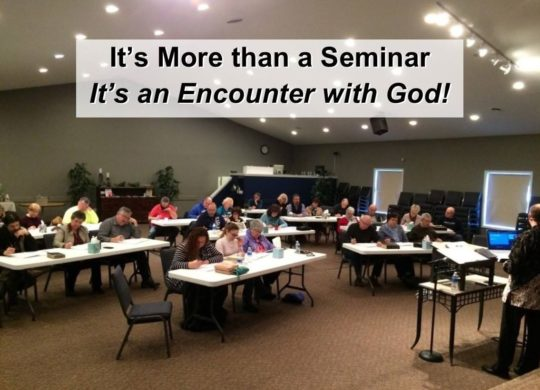 More than a Seminar – It's an Encounter with God!