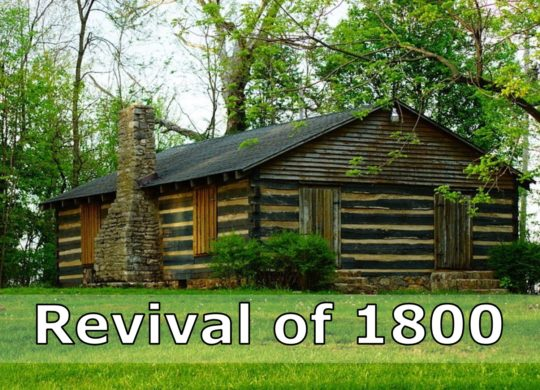 1800 Revival at Red River and Gasper River